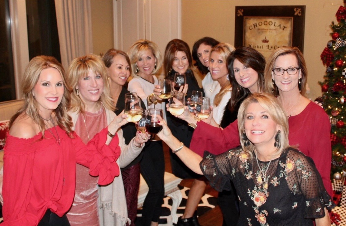 My annual girlfriends Christmas Party